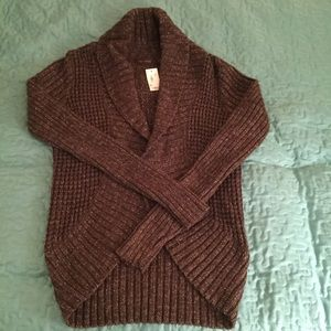 NWT The Limited Open Cardigan Sweater XS